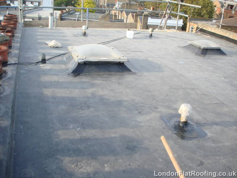 Photos Of Skylights In An Old 3 Layer Felt Roof London