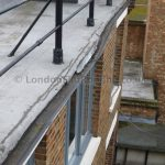 Lead flashing asphalt roof islington